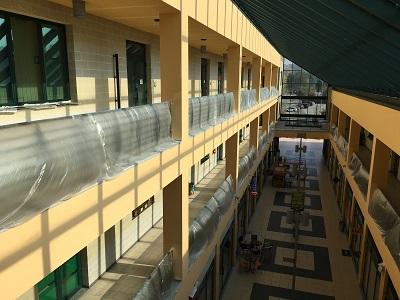 mat architettura Manutenzione straordinaria centro direzionale arancio