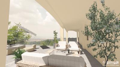 mat architettura render alloggio